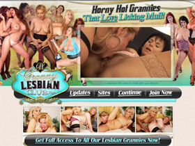 Granny Lesbian Club, these horny golden girls are never too old for some good, old-fashioned girl-on-girl!