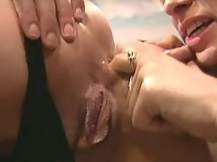 Perfect slim lesbians going... porn video