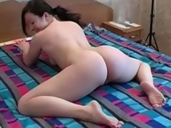 Naked babe performs several... porn video