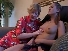 Teen lezzie loses virginity... porn video
